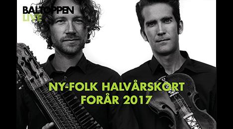 NY- FOLK Halv-årskort Forår2017