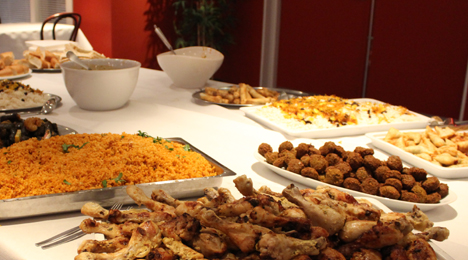 Spisning før Udvandrerne
