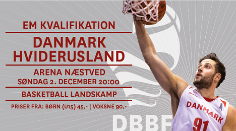 Danmark - Hviderusland(basketball)