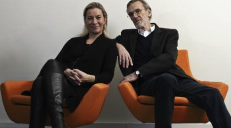 Signe Asmussen og Erik Kaltoft