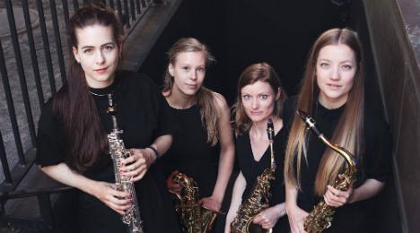 Saxofonkvartetten Jòr