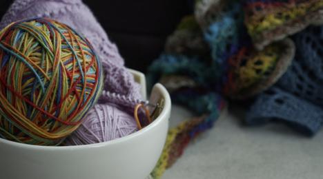 Lær at strikke Shetland Lace