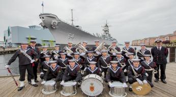 Julekoncert, Søværnets Tamburkorps
