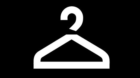 Garderobe KV Stående