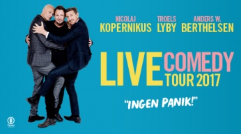 Live Comedy Tour 2017 -Ingen Panik