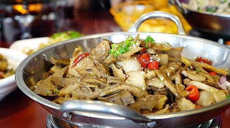 Kinesisk buffet i Spisehuset