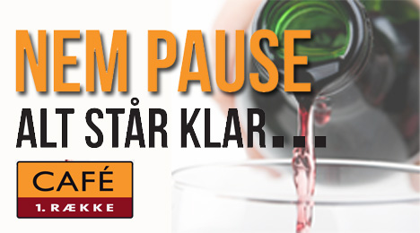Nem Pause - fri bar & snacks 17/18