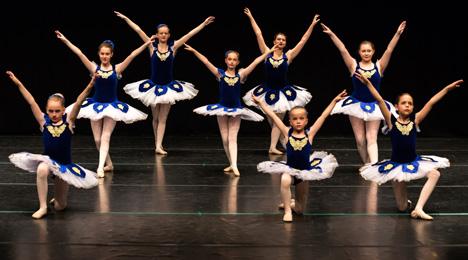 Byens Balletskole Opvisning 2018