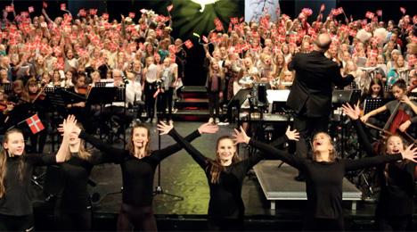 Skolernes Nytårskoncert 2019