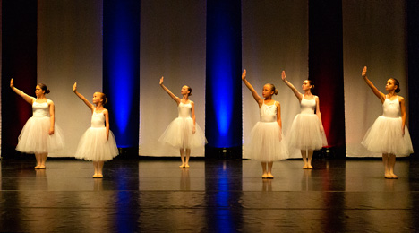 Byens Balletskole Opvisning