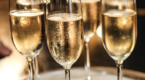 Champagneaften. incl. gourmetmenu